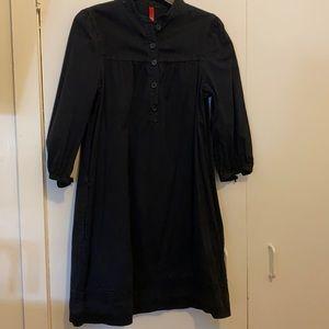 H&M Denim Black Tunic